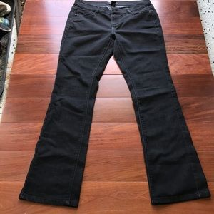 White House Black Market Noir sleek boot jeans szL